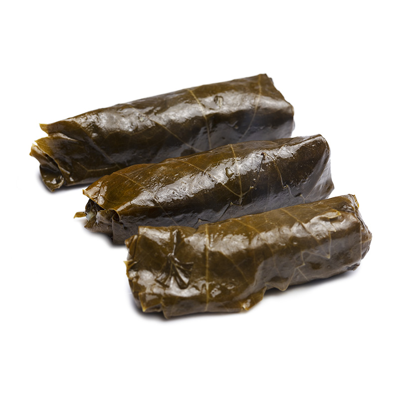 Vine Leaves Stuffed With Rice and Vegetables